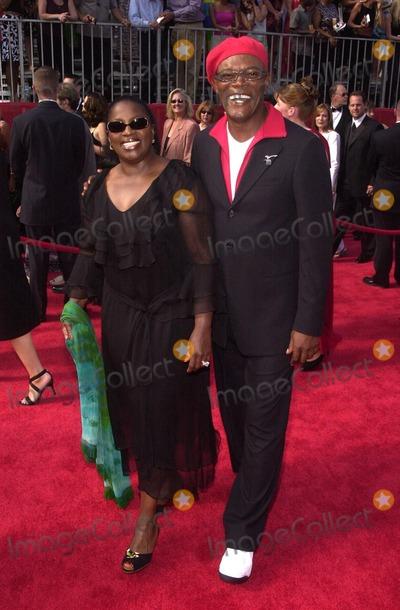 Samuel Jackson Photo - Samuel L Jackson and wife Latonya at the ESPY Awards at the Kodak Theater Hollywood CA 07-10-02