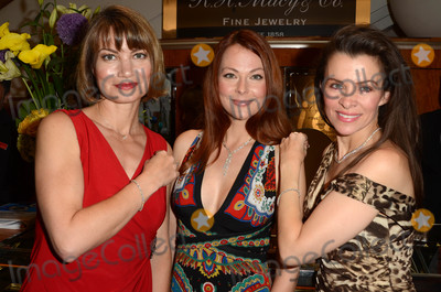 Anna Easteden Photo - Rena Riffel Anna Easteden Alicia Ardenat the Iberjoya Jewelry Event Macys Woodland Hills CA 06-12-16