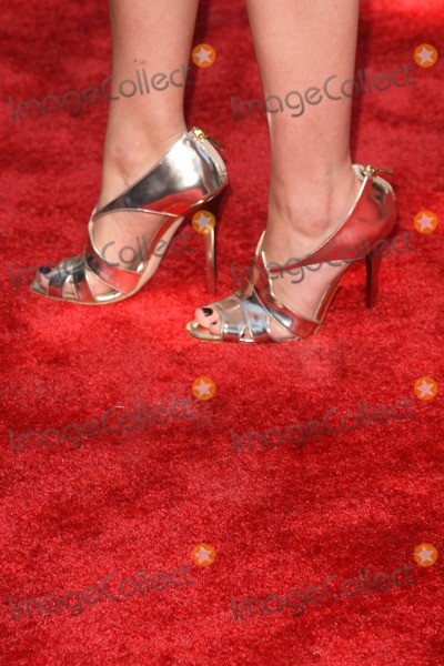 Anita Briem Photo - Anita Briems shoes at the Los Angeles Premiere of Journey to the Center of the Earth Mann Village Theater Westwood CA 06-29-08