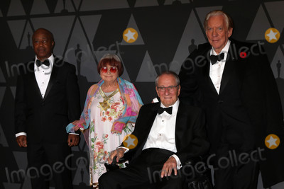 Agnes Varda Photo - Charles Burnett Agnes Varda Owen Roizman Donald Sutherlandat the AMPAS 9th Annual Governors Awards Dolby Ballroom Hollywood CA 11-11-17
