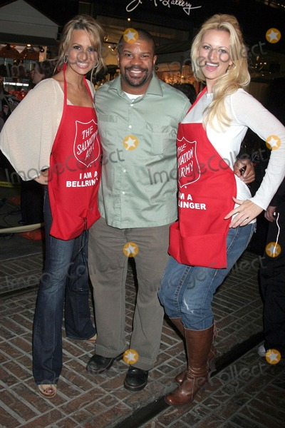 Aubrie Lemon Photo - Trisha Kara with Kelly Perine and Aubrie Lemonat The Salvation Armys Annual Kettle Kick Off Honoring Honorary Mayor Johnny Grant and Local and County Fire Chiefs The Original Farmers Market Los Angeles CA 11-19-07