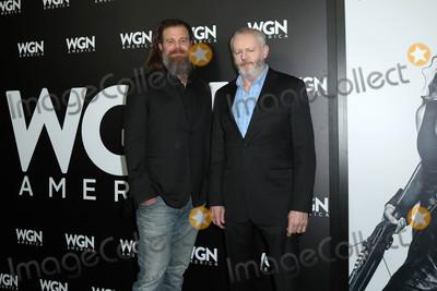 David Morse Photo - David Morse Ryan Hurstat a photo-op for WGN Americas Outsiders Langham Hotel Pasadena CA 01-13-17