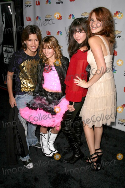 Kaili Thorne Photo - Remy Thorne and Bella Thorne with Kaili Thorne and Dani Thorne at the premiere party for My Own Worst Enemy Craft Los Angeles CA 10-04-08
