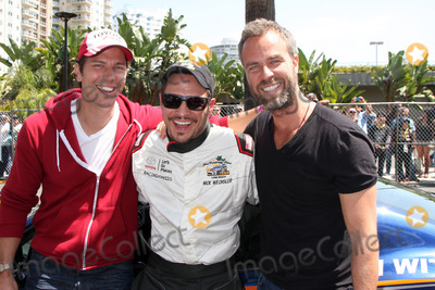 Nick Wechsler Photo - LOS ANGELES - APR 12  Michael Trucco Nick Wechsler JR Bourne at the Long Beach Grand Prix ProCeleb Race Day at the Long Beach Grand Prix Race Circuit on April 12 2014 in Long Beach CA
