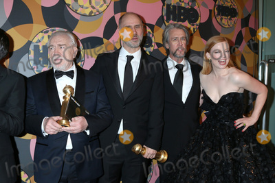 Alan Ruck Photo - LOS ANGELES - JAN 5  Kieran Culkin Brian Cox Jesse Armstrong Alan Ruck and Sarah Snook at the 2020 HBO Golden Globe After Party at the Beverly Hilton Hotel on January 5 2020 in Beverly Hills CA