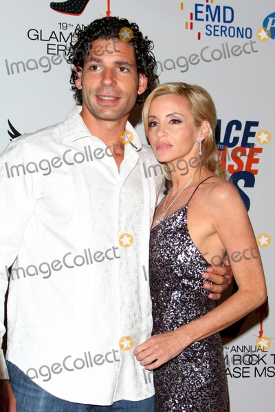 Dimitri Charalambopoulos Photo - LOS ANGELES - MAY 18  Dimitri Charalambopoulos Camille Grammer arrives at the 19th Annual Race to Erase MS gala at Century Plaza Hotel on May 18 2012 in Century City CA