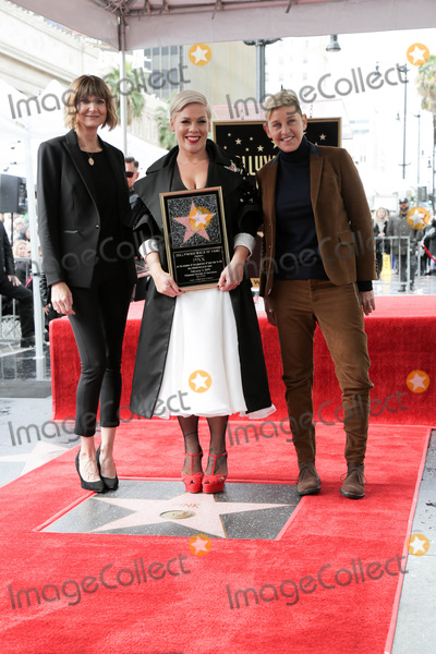 Kerri Kenney-Silver Photo - LOS ANGELES - FEB 5  Kerri Kenney-Silver Pink Ellen DeGeneres at the Pink Star Ceremony on the Hollywood Walk of Fame on February 5 2019 in Los Angeles CA