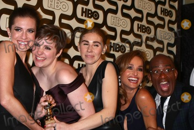 Giada De Laurentiis Photo - LOS ANGELES - JAN 13  Zosia Mamet Lena Dunham Allison Williams Giada De Laurentiis Al Roker arrives at the 2013 HBO Post Golden Globe Party at Beverly Hilton Hotel on January 13 2013 in Beverly Hills CA