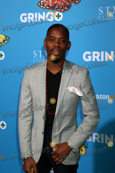 Aml Ameen Photo - LOS ANGELES - MAR 6  Aml Ameen at the Gringo Premiere at Regal LA Live on March 6 2018 in Los Angeles CA