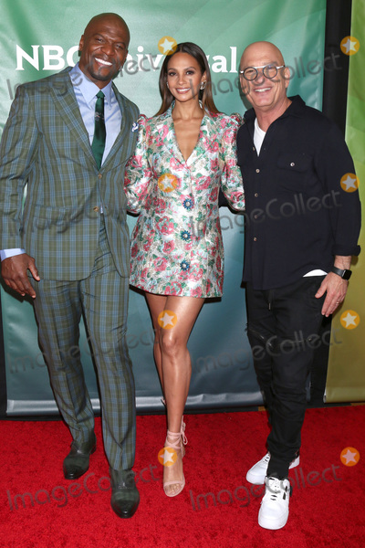 Howie Mandel Photo - LOS ANGELES - JAN 11  Terry Crews Alesha Dixon and Howie Mandel at the NBCUniversal Winter Press Tour at the Langham Huntington Hotel on January 11 2020 in Pasadena CA