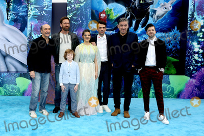 Christopher Mintz Plasse Photo - LOS ANGELES - FEB 9  F Murray Abraham Gerard Butler AJ Kane America Ferrera Jay Baruchel Craig Ferguson Christopher Mintz-Plasse at the How To Train Your Dragon The Hidden World  Premiere at the Village Theater on February 9 2019 in Westwood CA