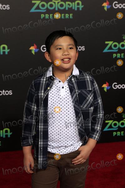 Albert Tsai Photo - LOS ANGELES - FEB 17  Albert Tsai at the Zootopia Premiere at the El Capitan Theater on February 17 2016 in Los Angeles CA