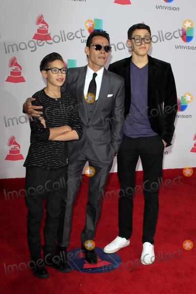 Marc Anthony Photo - LAS VEGAS - NOV 17  Ryan Adrian Muniz Marc Anthony Cristian Marcus Muniz at the 17th Annual Latin Grammy Awards at T-Mobile Arena on November 17 2016 in Las Vegas NV