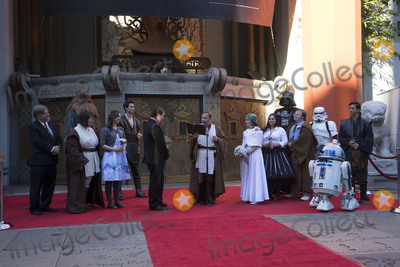 Andrew Porters Photo - LOS ANGELES - DEC 17  Andrew Porters Caroline Ritter at the Australian Star Wars fans get married in a Star Wars-themed wedding at the TCL Chinese Theater on December 17 2015 in Los Angeles CA