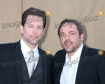 Michael Muhney Photo - LOS ANGELES - JUL 29  Michael Muhney Mark Sheppard of Supernatural arrives at the 2013 CBS TCA Summer Party at the private location on July 29 2013 in Beverly Hills CA