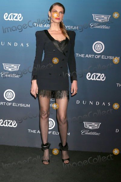 Angela Lindvall Photo - LOS ANGELES - JAN 5  Angela Lindvall at the Art of Elysium 12th Annual HEAVEN Celebration at a Private Location on January 5 2019 in Los Angeles CA