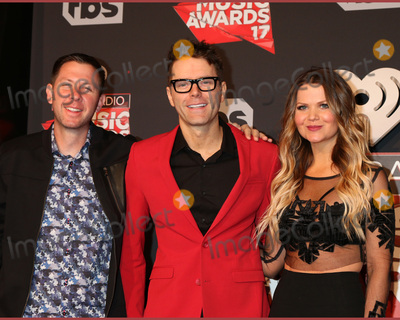 Bobby Bones Photo - LOS ANGELES - MAR 5  Lunchbox Bobby Bones Amy Brown at the 2017 iHeart Music Awards at Forum on March 5 2017 in Los Angeles CA