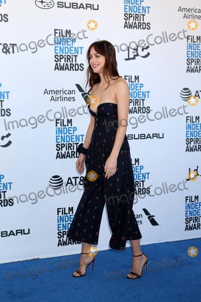 Dakota Johnson Photo - LOS ANGELES - FEB 23  Dakota Johnson at the 2019 Film Independent Spirit Awards on the Beach on February 23 2019 in Santa Monica CA