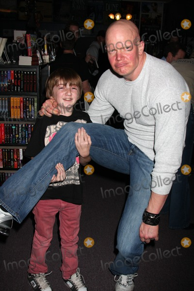 Derek Mears Photo - Caleb Guss (Young Jason 2009)  Derek Mears (Jason 2009)Signing of the new DVD release His Name Was Jason 30 Years of Friday the 13ths at Dark Delicacies Store in Burbank CA on February 3 2009