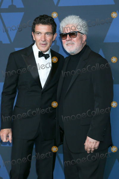 Pedro Almodovar Photo - LOS ANGELES - OCT 27  Antonio Banderas Pedro Almodovar at the 11th Annual Governors Awards at the Dolby Theater on October 27 2019 in Los Angeles CA
