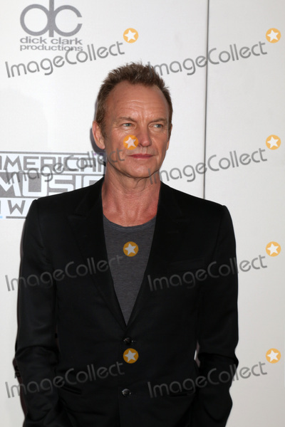 Sting Photo - LOS ANGELES - NOV 20  Sting at the 2016 American Music Awards at Microsoft Theater on November 20 2016 in Los Angeles CA