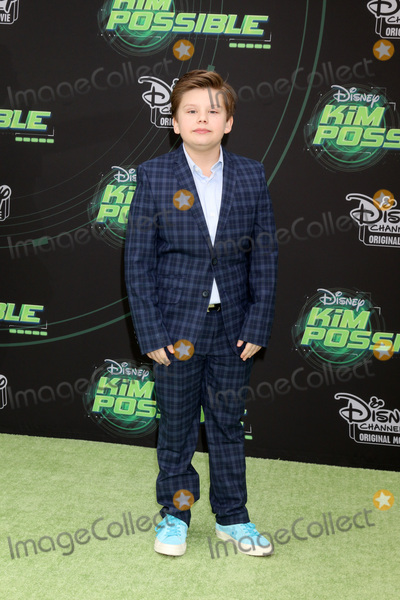 Maxwell Simkins Photo - LOS ANGELES - FEB 12  Maxwell Simkins at the Kim Possible Premiere Screening at the TV Academy on February 12 2019 in Los Angeles CA