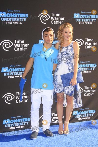 Adam Irigoyen Photo - LOS ANGELES - JUN 17  Adam Irigoyen Caroline Sunshine at the Monsters University Premiere at El Capitan Theater on June 17 2013 in Los Angeles CA