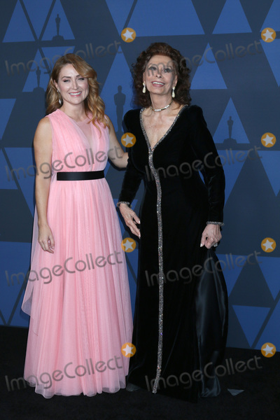 Sophia Loren Photo - LOS ANGELES - OCT 27  Sasha Alexander Sophia Loren at the 11th Annual Governors Awards at the Dolby Theater on October 27 2019 in Los Angeles CA