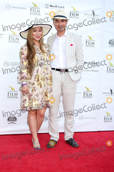 Alice Aoki Photo - LOS ANGELES - SEP 26  Alice Aoki Ed Moy at the Catalina Film Festival Saturday Gala at the Avalon Theater on September 26 2015 in Avalon CA