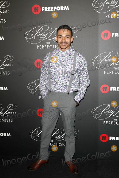 Noah Gray Cabey Photo - LOS ANGELES - MAR 15  Noah Gray-Cabey at the Pretty Little Liars The Perfectionists Premiere at the Hollywood Athletic Club on March 15 2019 in Los Angeles CA
