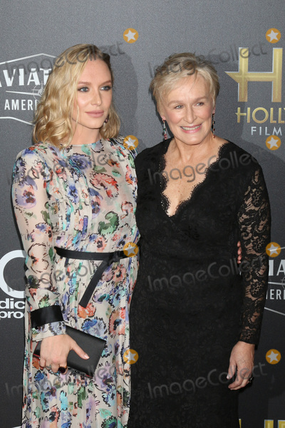 Annie Stark Photo - LOS ANGELES - NOV 4  Annie Starke Glenn Close at the Hollywood Film Awards 2018 at the Beverly Hilton Hotel on November 4 2018 in Beverly Hills CA