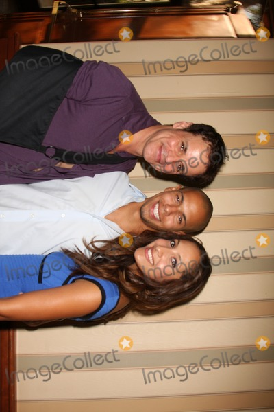 Christian LeBlanc Photo - Christian LeBlanc Bryton James and Christel Khalil  arriving at The Young  the Restless Fan Club Dinner  at the Sheraton Universal Hotel in  Los Angeles CA on August 28 2009