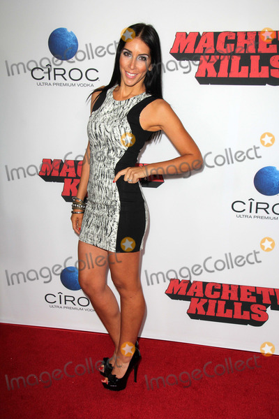 Amy Kaufman Photo - LOS ANGELES - OCT 2  Amy Kaufman Gillies at the Machete Kills Los Angeles Premiere at Regal 14 Theaters on October 2 2013 in Los Angeles CA