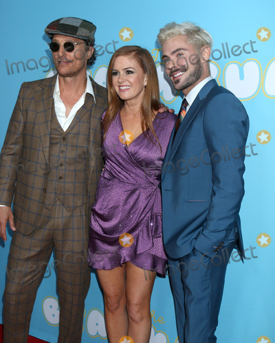 Zac Efron Photo - LOS ANGELES - MAR 28  Matthew McConaughey Isla Fisher Zac Efron at The Beach Bum Premiere at the ArcLight Hollywood on March 28 2019 in Los Angeles CA