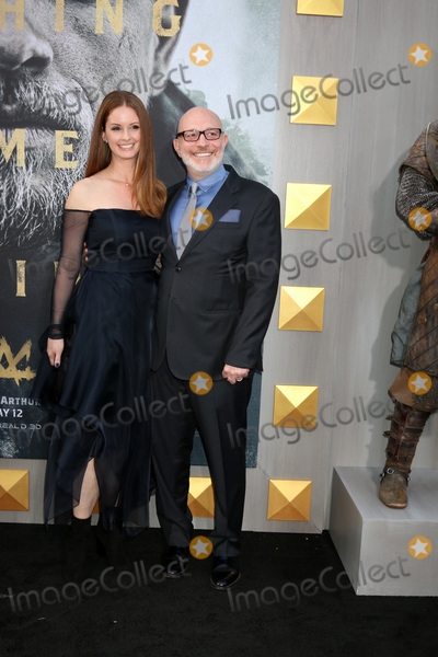 Akiva Goldsman Photo - LOS ANGELES - MAY 8  Joann Richter Akiva Goldsman at the King Arthur Legend of the Sword World Premiere on the TCL Chinese Theater IMAX on May 8 2017 in Los Angeles CA