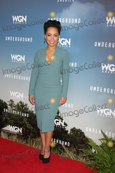 Amirah Vann Photo - LOS ANGELES - JAN 8  Amirah Vann at the Underground WGN Winter 2016 TCA Photo Call at the The Langham Huntington Hotel on January 8 2016 in Pasadena CA
