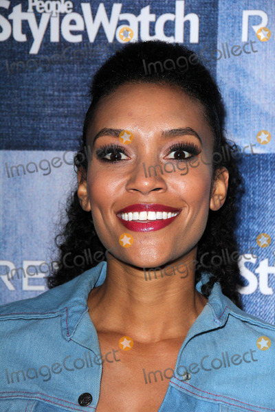 Annie  Ilonzeh Photo - LOS ANGELES - SEP 18  Annie Ilonzeh at the People Stylewatch Hosts Hollywood Denim Party at The Line on September 18 2014 in Los Angeles CA
