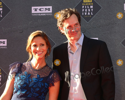 The Producers Photo - LOS ANGELES - APR 26  Andrea Savage Tom Everett Scott at the 2018 TCM Classic Film Festival - Opening Night Gala - 50th Anniversary of The Producers at TCL Chinese Theater IMAX on April 26 2018 in Los Angeles CA