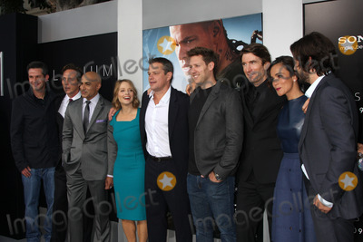 Neill Blomkamp Photo - LOS ANGELES - AUG 7  Producer Simon Kinberg actors William Fichtner Faran Tahir Jodie Foster Matt Damon director Neill Blomkamp actors Sharlto Copley Alice Braga and Diego Luna arrives at the Elysium World Premiere at the Village Theater on August 7 2013 in Westwood CA