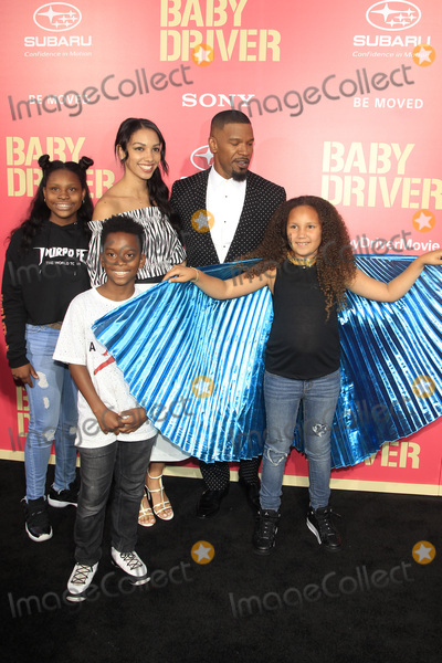 Corinne Bishop Photo - LOS ANGELES - JUN 14  Corinne Bishop Jamie Foxx Annelise Bishop at the Baby Driver Premiere at the The Theater at Ace Hotel on June 14 2017 in Los Angeles CA
