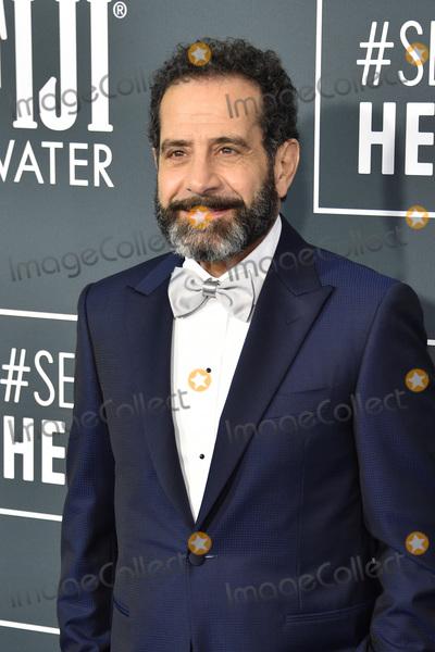 Tony Shalhoub Photo - LOS ANGELES - JAN 12  Tony Shalhoub at the Critics Choice Awards 2020 at the Barker Hanger on January 12 2020 in Santa Monica CA
