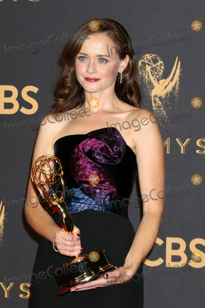 Alexis Bledel Photo - LOS ANGELES - SEP 17  Alexis Bledel at the 69th Primetime Emmy Awards - Press Room at the JW Marriott Gold Ballroom on September 17 2017 in Los Angeles CA