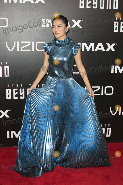 Xie Na Photo - LOS ANGELES - JUL 20  Xie Na at the Star Trek Beyond World Premiere at the Embarcadero Marina on July 20 2016 in San Diego CA