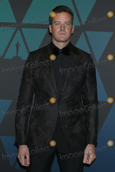 Armie Hammer Photo - LOS ANGELES - NOV 18  Armie Hammer at the 10th Annual Governors Awards at the Ray Dolby Ballroom on November 18 2018 in Los Angeles CA