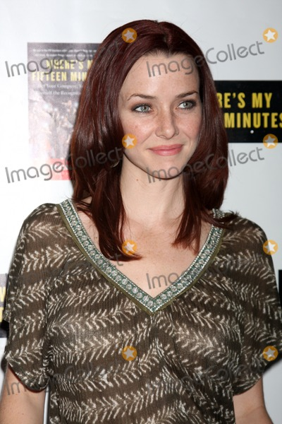 Annie Wersching Photo - Annie Wersching Howard Bragmans Book Party for Wheres My Fifteen Minutes at the Chateau Marmont Hotel in West Los Angeles CA on January 14 2009