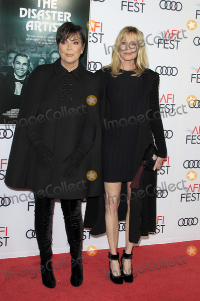 Melanie Griffith Photo - LOS ANGELES - NOV 12  Kris Jenner Melanie Griffith at the AFI FEST 2017 The Disaster Artist Screening at the TCL Chinese Theater IMAX on November 12 2017 in Los Angeles CA