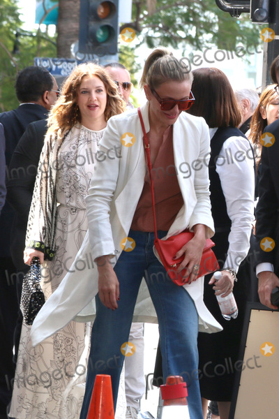 Drew Barrymore Photo - LOS ANGELES - MAY 1  Drew Barrymore Cameron Diaz at the Lucy Liu Star Ceremony on the Hollywood Walk of Fame on May 1 2019 in Los Angeles CA
