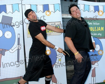 Greg Grunberg Photo - LOS ANGELES - SEP 26  Zachary Levi  Greg Grunberg arrives at the Ultimate Slam Paddle Jam 2010 at Music Box Theater on September 26 2010 in Los Angeles CA