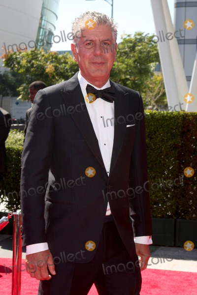 Anthony Bourdain Photo - LOS ANGELES - SEP 15  Anthony Bourdain at the Creative Emmys 2013 - Arrivals at Nokia Theater on September 15 2013 in Los Angeles CA