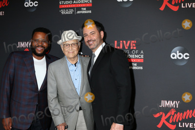 Anthony Anderson Photo - LOS ANGELES - AUG 7  Anthony Anderson Norman Lear Jimmy Kimmel at the An Evening With Jimmy Kimmel at the Roosevelt Hotel on August 7 2019 in Los Angeles CA
